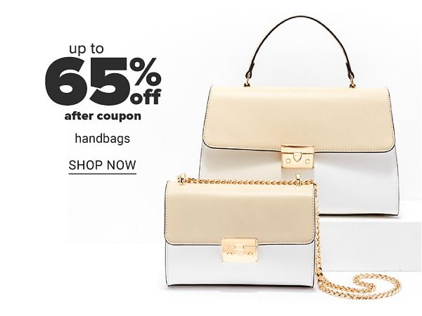 Up to 65% off after coupon handbags. Shop Now.