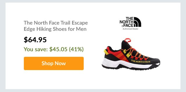 The North Face Trail Escape Edge Hiking Shoes for Men