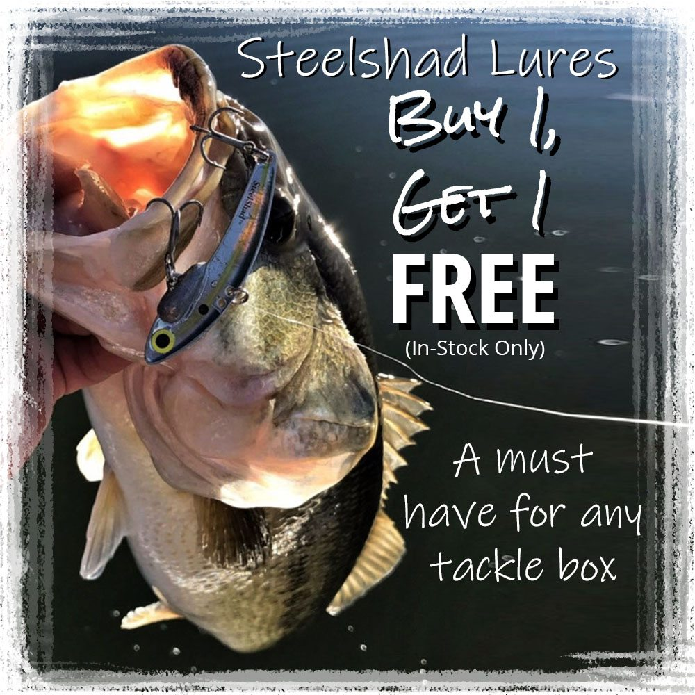 Buy 1, Get 1 free on Steelshad