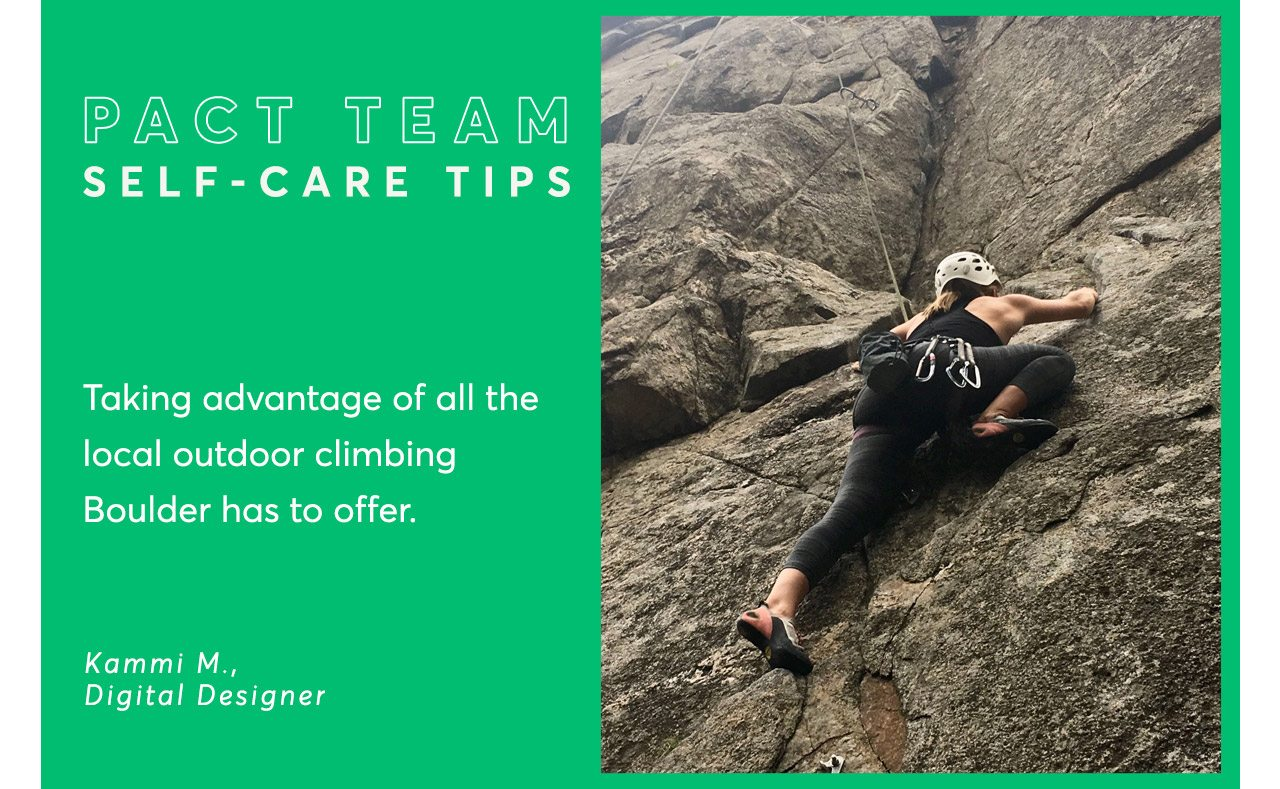 Pact Team Self-Care Tips
