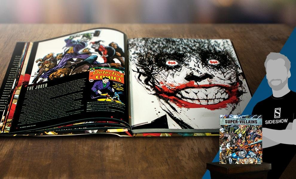DC Comics: Supervillains: The Complete Visual History Hardcover Book (Insight Editions)
