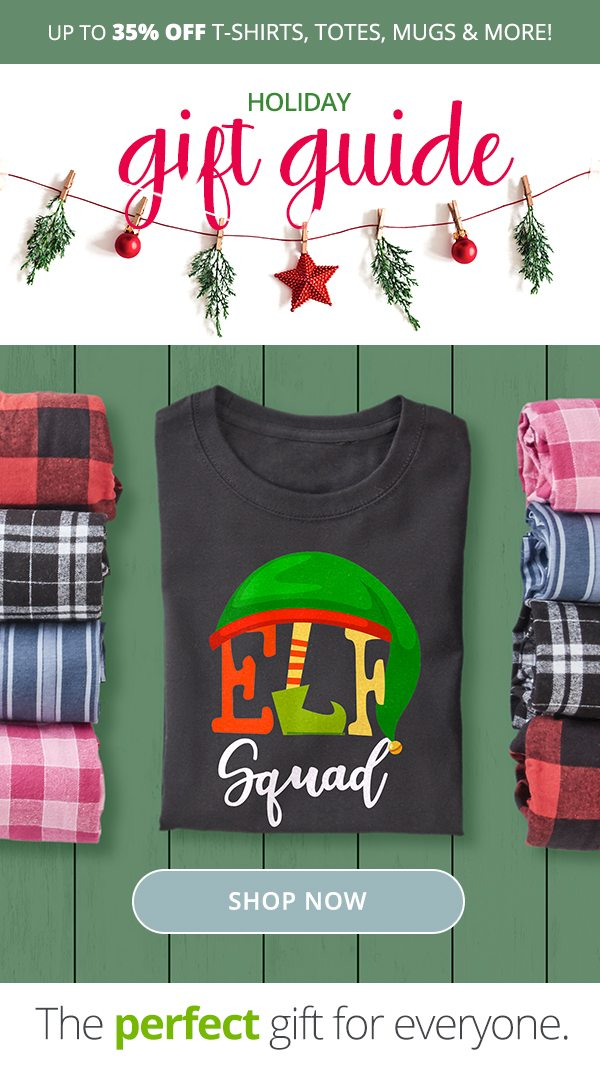 Up to 35% Off Tees, Totes and Mugs. Holiday Gift Guide Shop Now