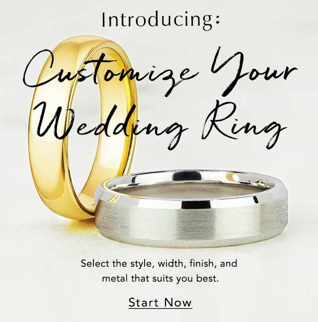 Customize Your Wedding Ring