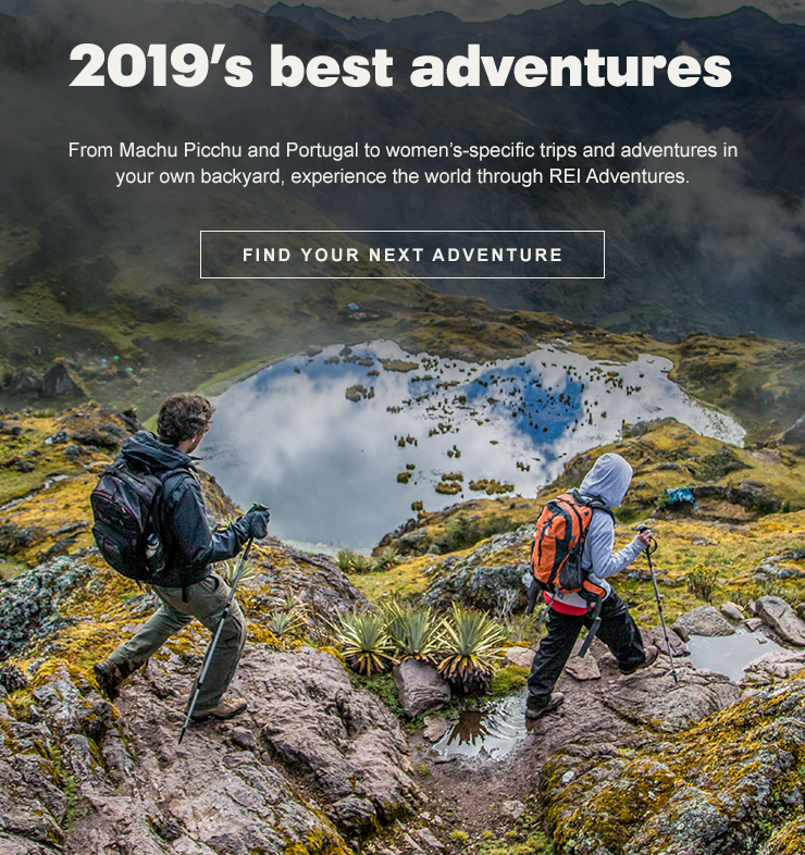 From Machu Picchu and Portugal to women's-specific trips and adventures in your own backyard, experience the world through REI Adventures.