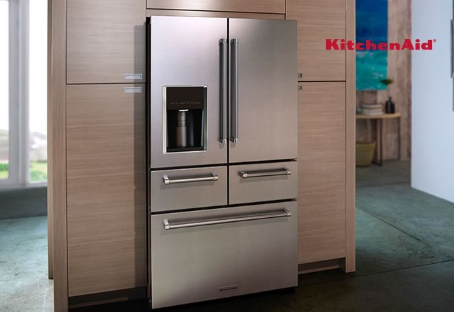 New Year's KitchenAid Refrigerator Sale