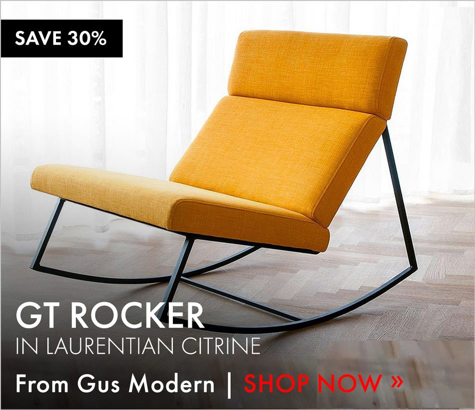 Enjoyable Save 30 On Gus Modern Gt Rocker More Black Friday Savings Lamtechconsult Wood Chair Design Ideas Lamtechconsultcom