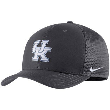 Kentucky Wildcats Nike Swoosh Performance Flex Hat - Anthracite