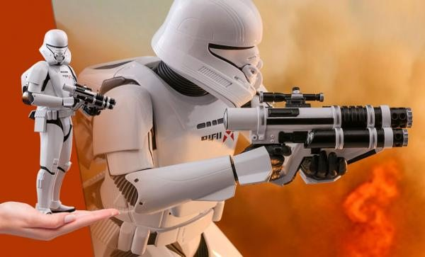 Jet Trooper Sixth Scale Figure by Hot Toys