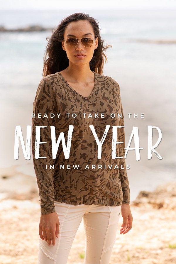 Ready to take on the new year in new arrivals!