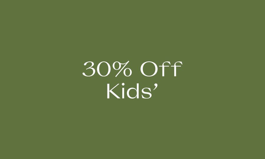 30% Off The Kids' Edit
