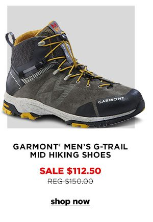Garmont Men's G-Trail Mid Hiking Shoes - Click to Shop Now