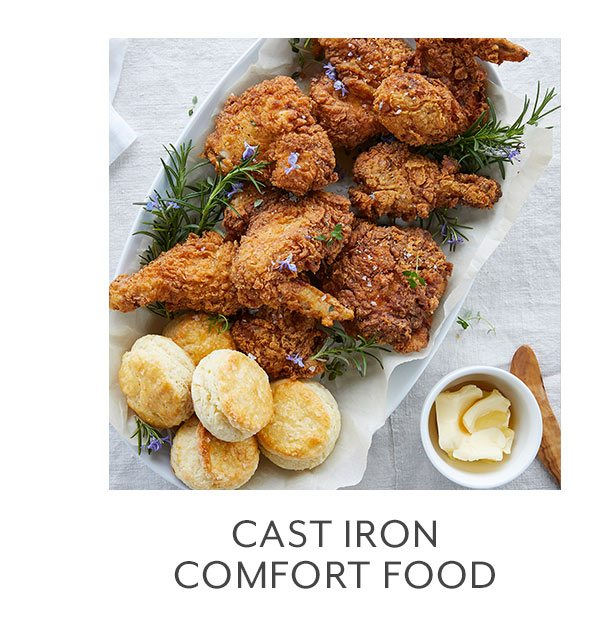 Class: Cast Iron Comfort Food