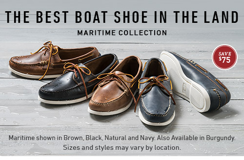 Save $75 on the Maritime Collection