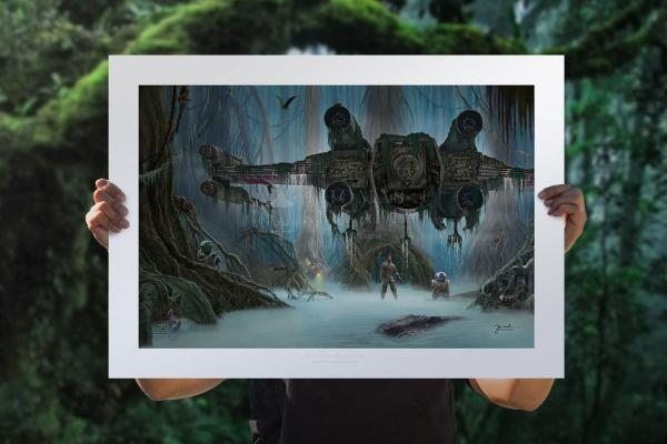 Do. Or do not. There is no try. Fine Art Print