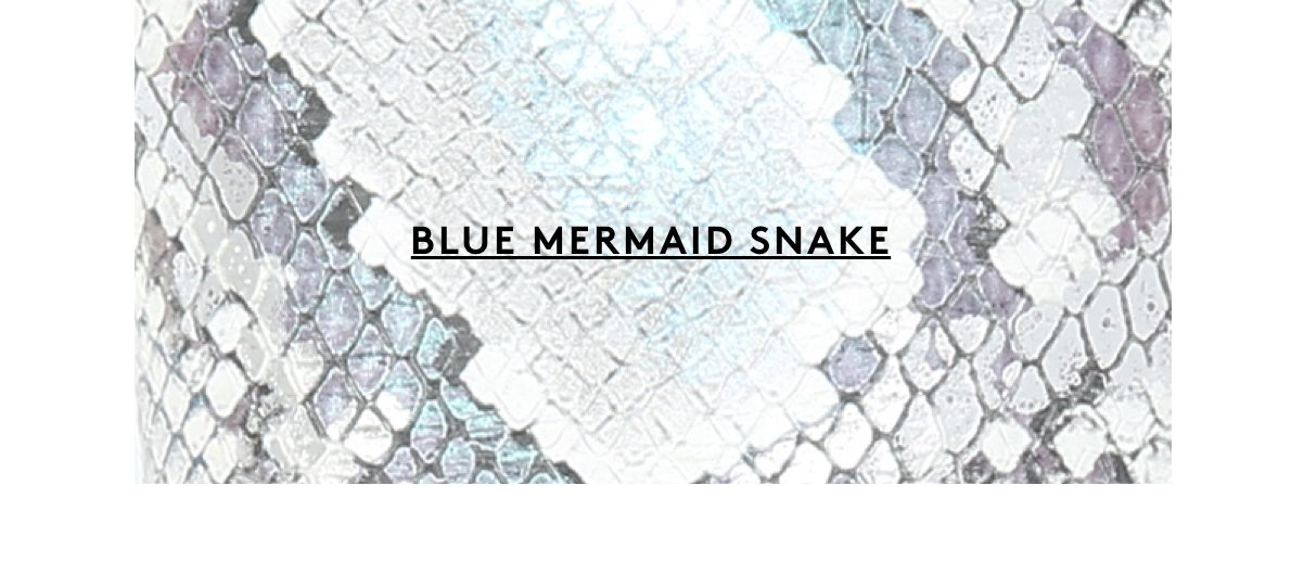 Blue Mermaid Snake