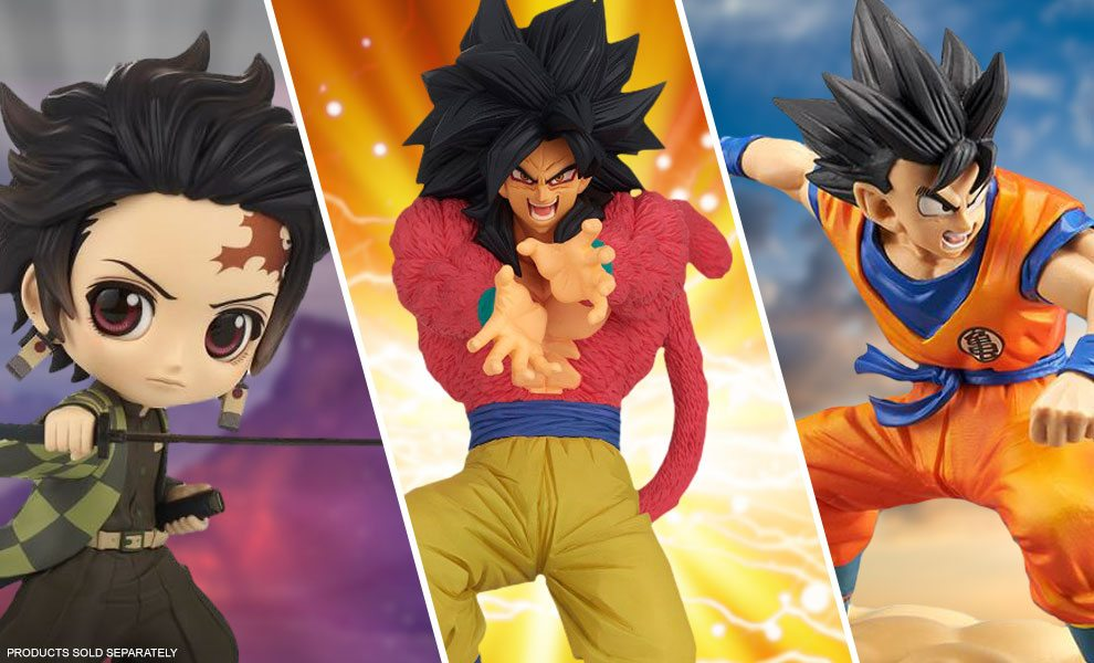 NEW Anime Collectibles by Banpresto