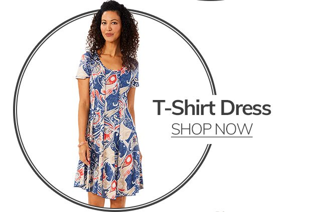 Shop T-Shirt Dresses