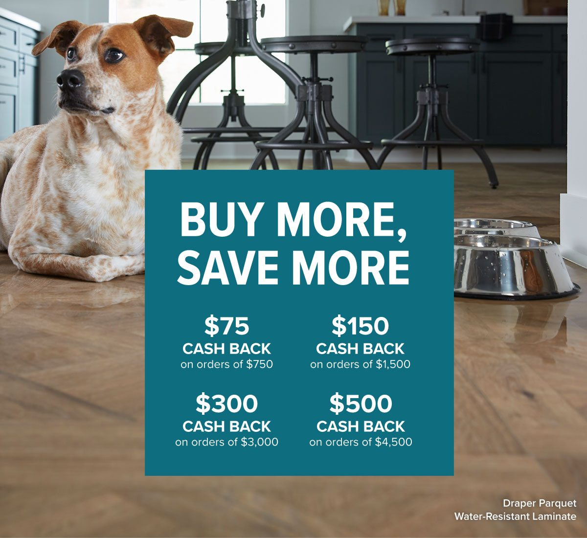Save More on any floor