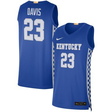 Anthony Davis Kentucky Wildcats Nike Alumni Limited Basketball Jersey - Royal