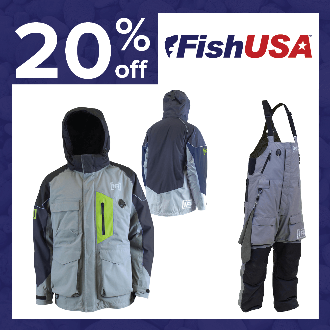 20% off Ice Fishing Outerwear