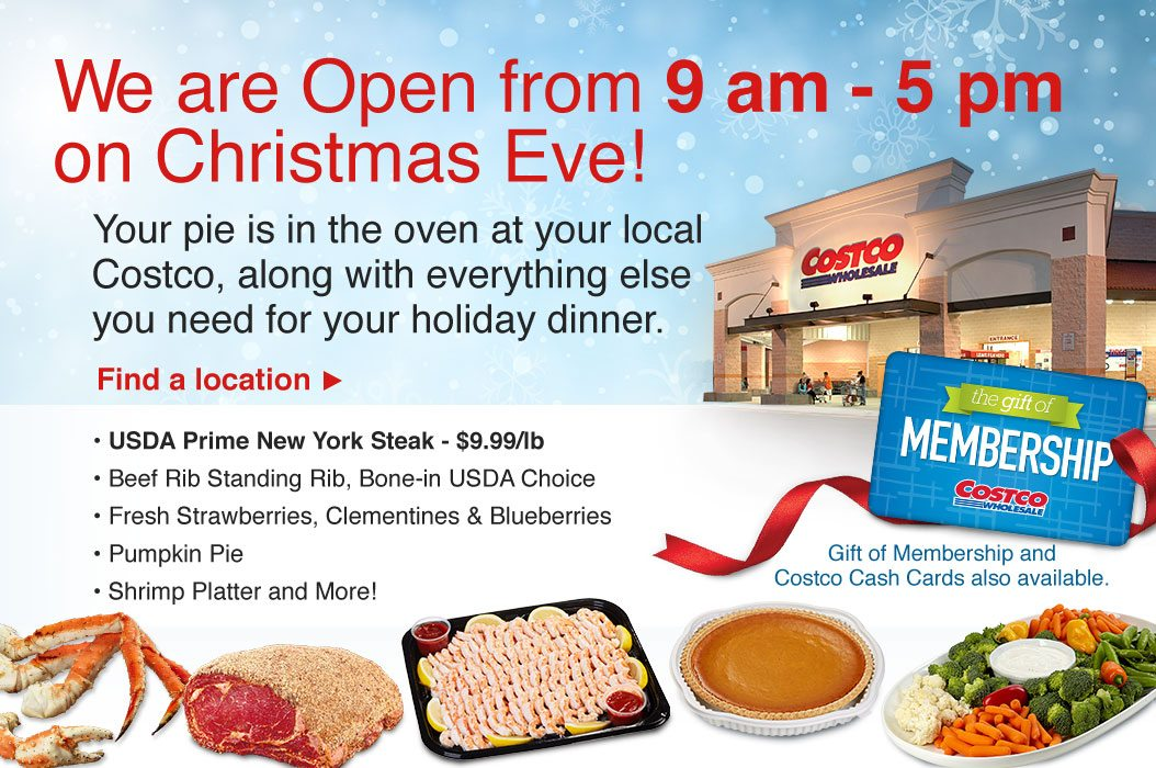 Promotions end today, 12/24! Warehouses are open today 9 am - 5 pm
