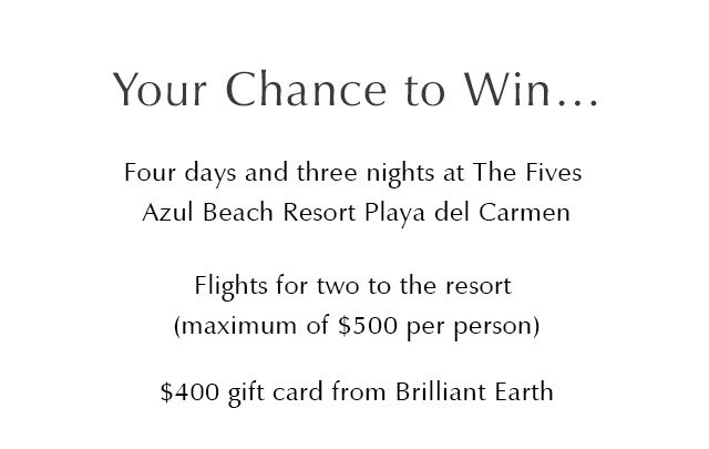 Your Chance to Win