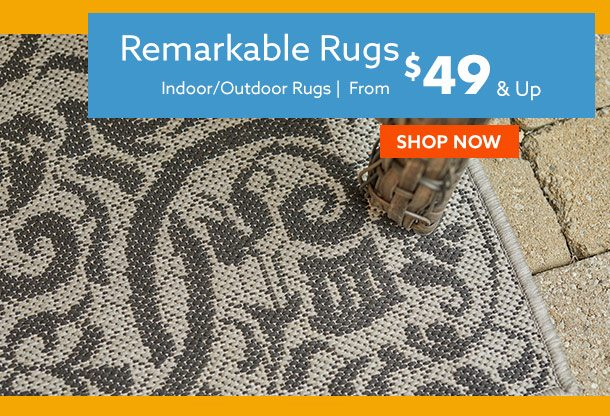 Rugs $49 & up