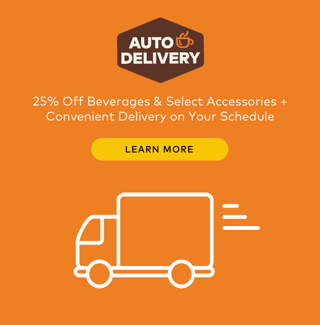 25% Off Beverages and Select Accessories with Keurig.com Auto-Delivery