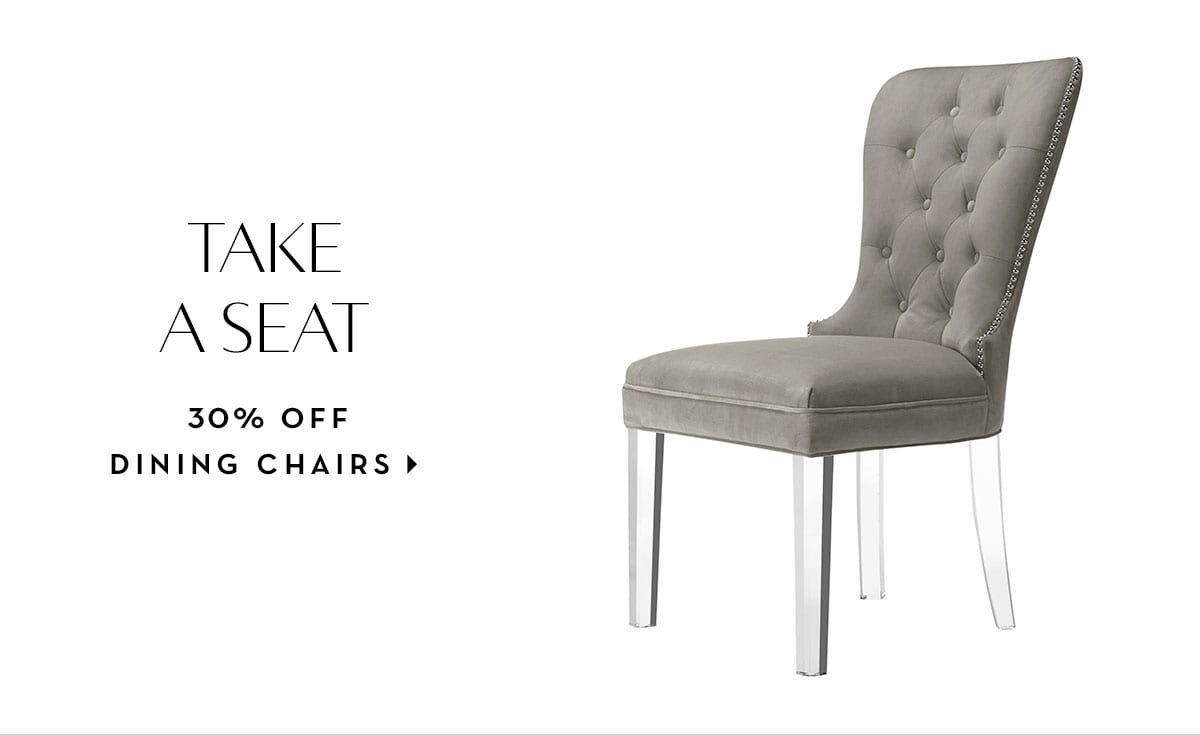20% off dining chairs