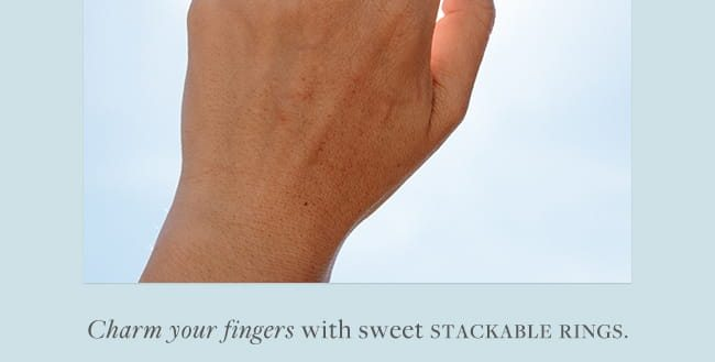 Charm your Fingers with Color Code Rings