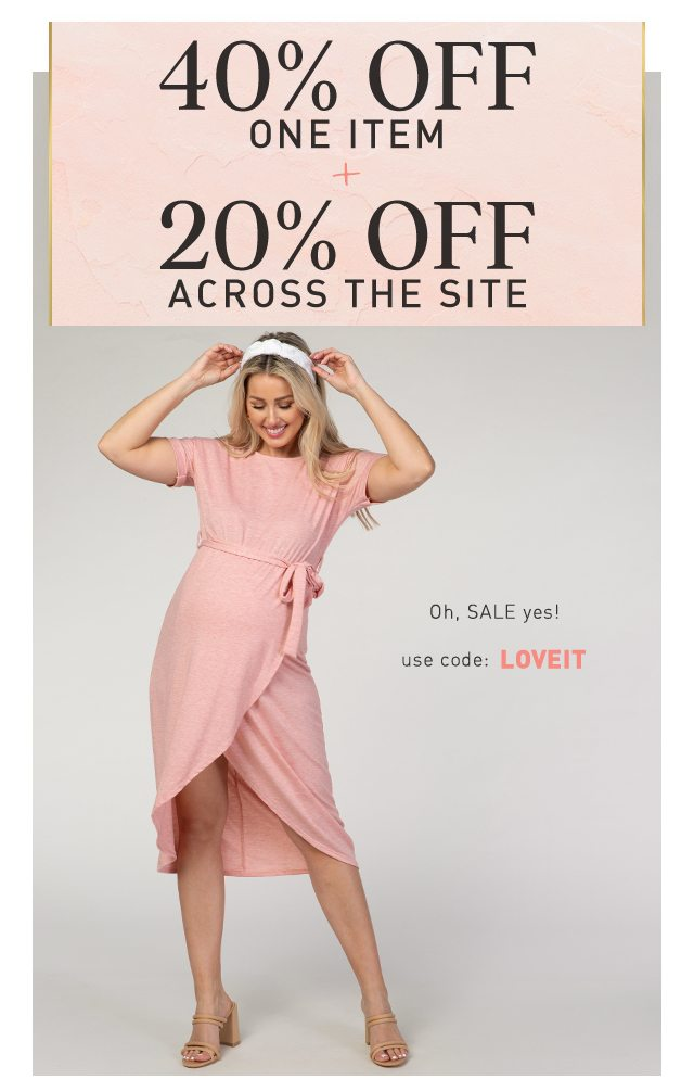 40% Off One Item + 20% Off Across The Site