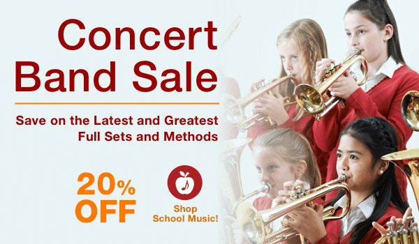 Save On Concert Band Methods and Sets + Coupon + Free