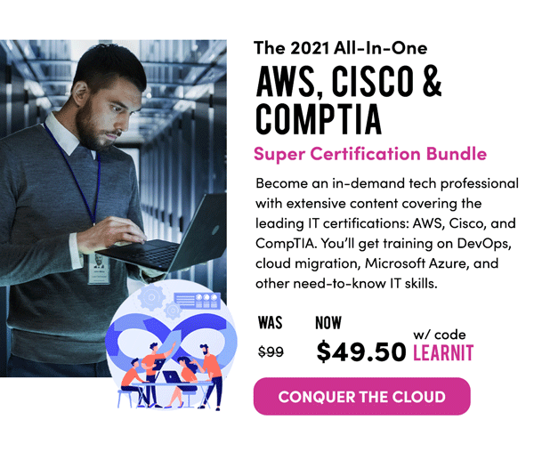 All-In-One Super Certification Bundle | Conquer The Cloud