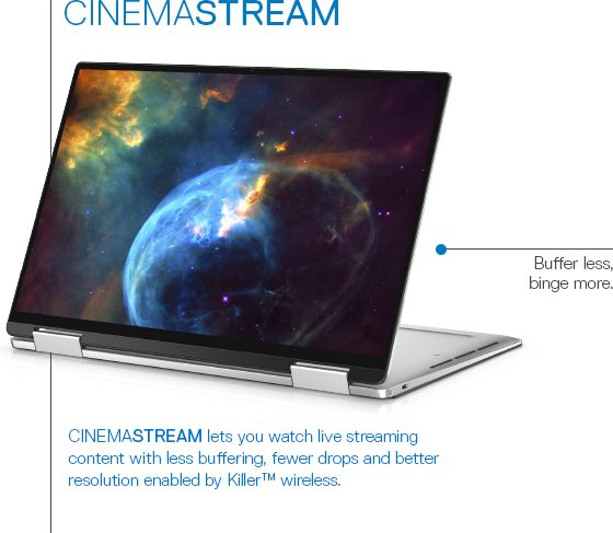 Dell Cinema | On the cutting edge on entertainment  - Dell | Annual
