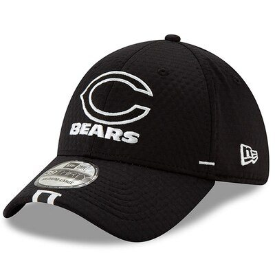 Chicago Bears New Era 2019 NFL Training Camp 39THIRTY Flex Hat – Black
