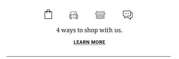 4 ways to shop with us