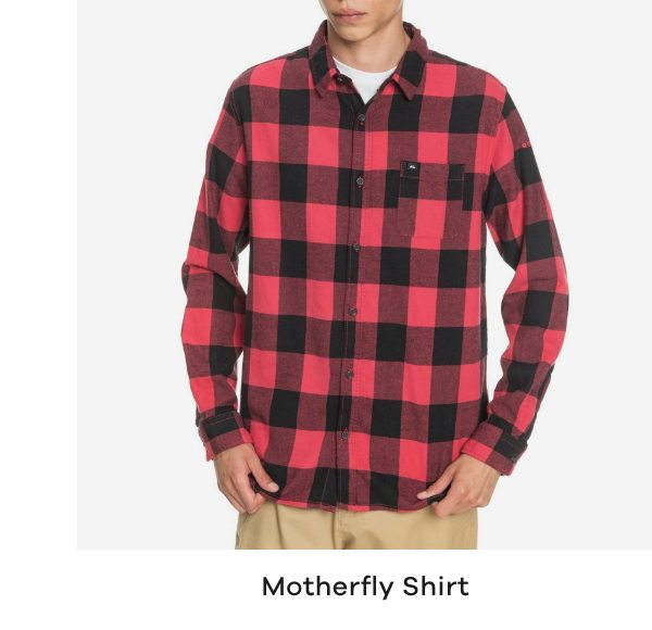 Quiksilver Motherfly Flannel Boys Shirt