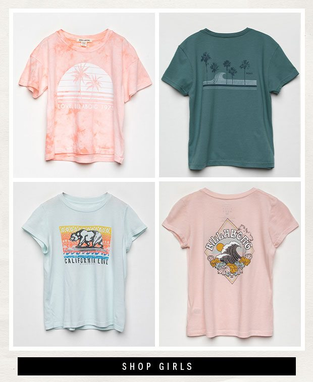 Shop Girls' Branded Graphic Tees