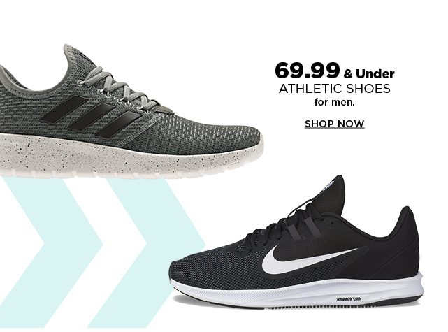 69.99 and under athletic shoes for the men. shop now.