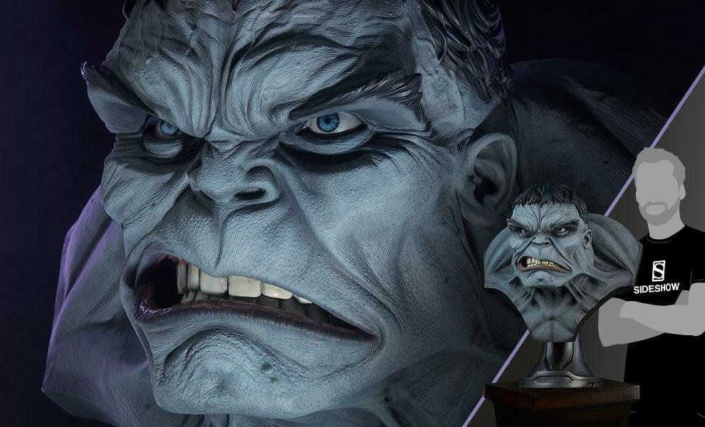 Gray Hulk Life-Size Bust - ONLY 150 Worldwide!