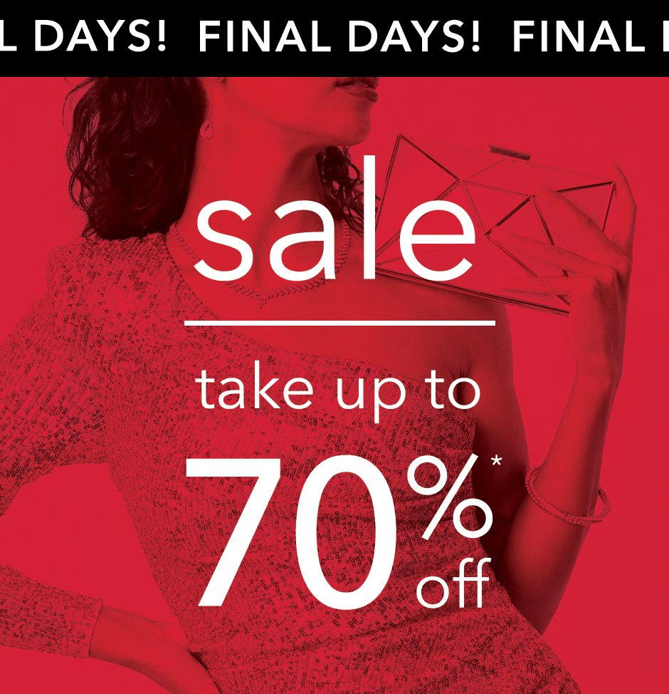 up to 70% off! Shop now