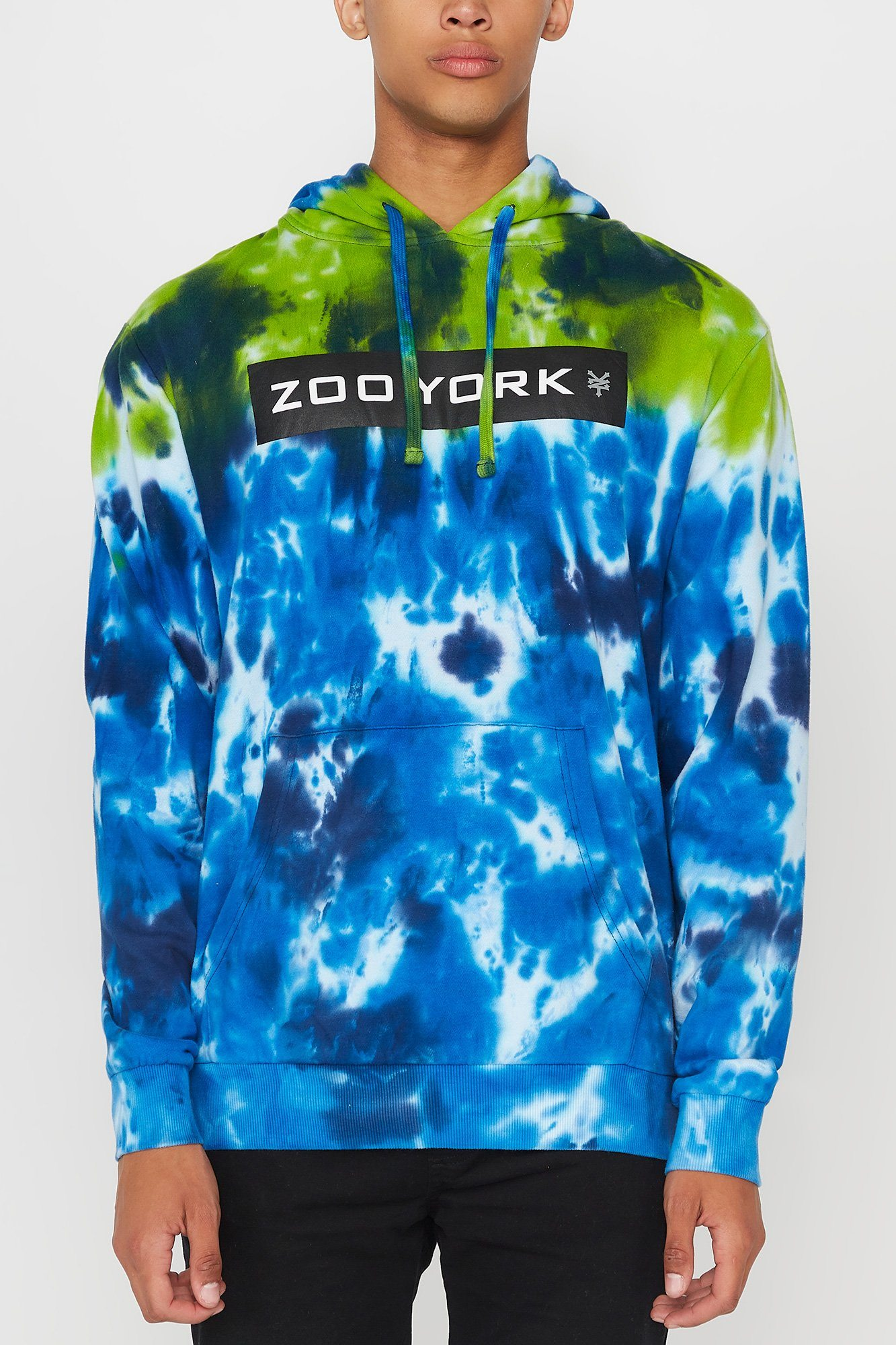 Image of Zoo York Mens Tie-Dye Hoodie