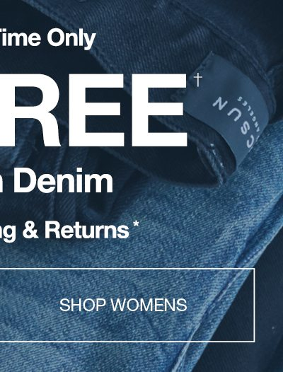 Limited Time - Buy One Get One Free PacSun Denim - Shop Womens