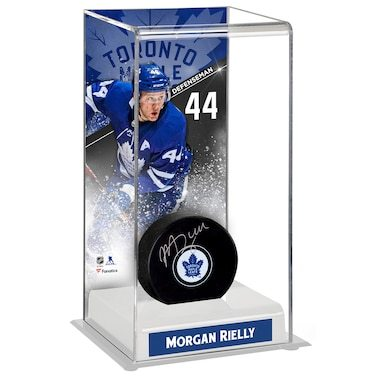 Morgan Rielly Toronto Maple Leafs Fanatics Authentic Deluxe Tall Hockey Puck Case