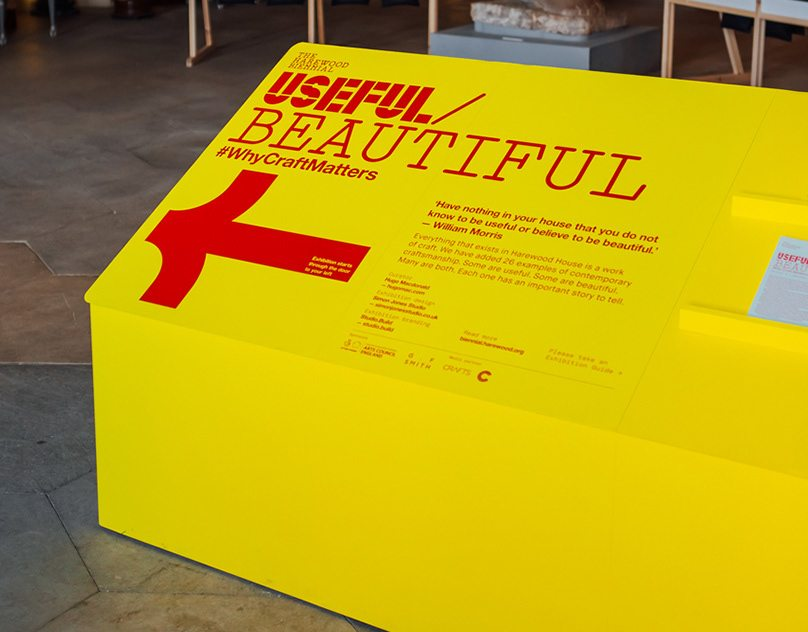 Harewood House - Useful/Beautiful exhibition identity