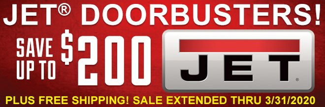 Jet Doorbusters! Save Up To $200 on Jet. Plus Free Shipping! Extended Thru 3/31!
