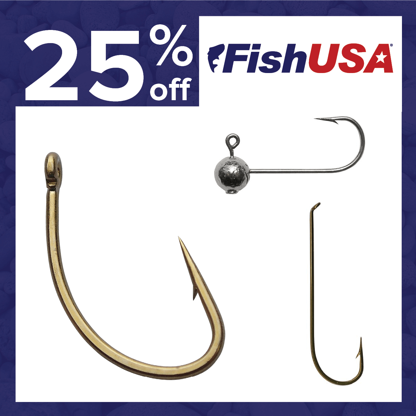 25% off Fly Fishing Hooks