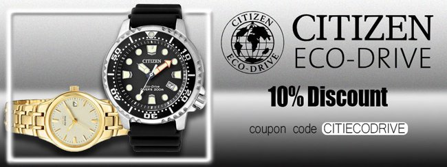Citizen Eco Drive Watches On Sale Additional 10 Discount