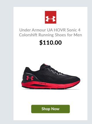 Under Armour UA HOVR Sonic 4 Colorshift Running Shoes for Men