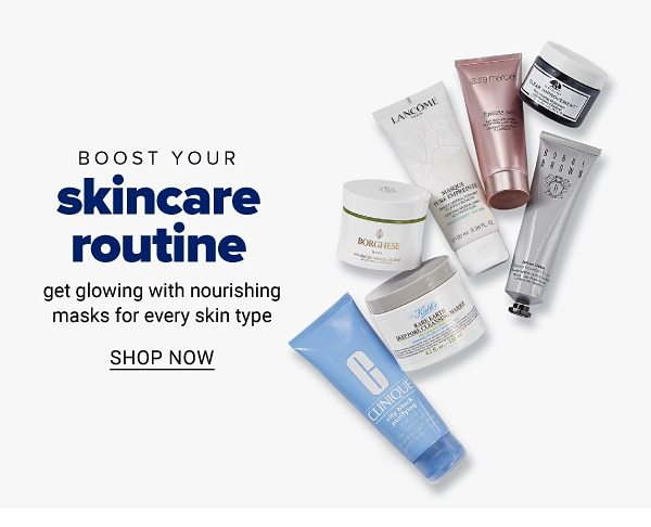 Boost your skincare routine - get glowing with nourishing masks for every skin type. Shop Now.